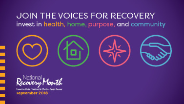 National Recovery Month Logo