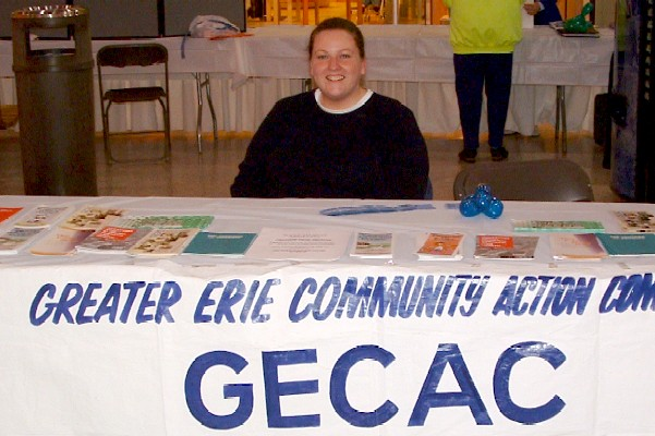Photo of Greater Erie Community Action Committee Display