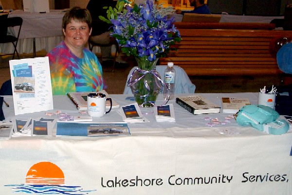 Photo of Lakeshore Community Services Display